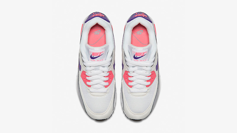Nike Air Max 90 Grey Pink Womens 325213-136 02