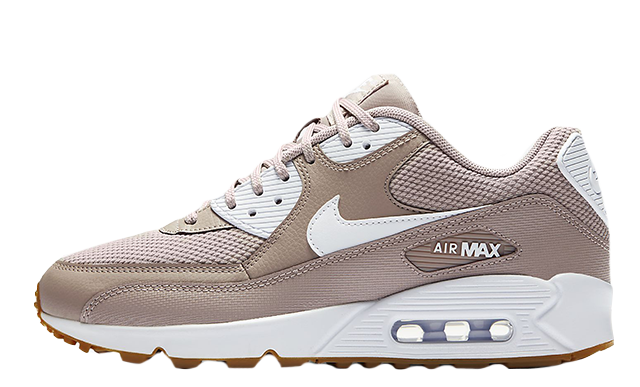 sale retailer 2d059 81d3d Make sure to stay tuned to The Sole Womens for more Nike releases and news.  UK true DD MM YYYY. Nike Air Max 90 Taupe Gum ...