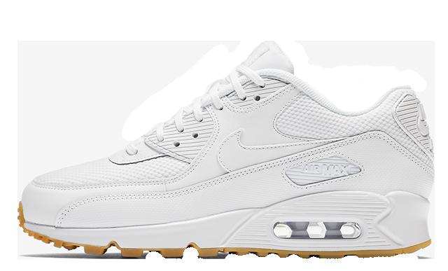Nike Air Max 90 White Gum Womens