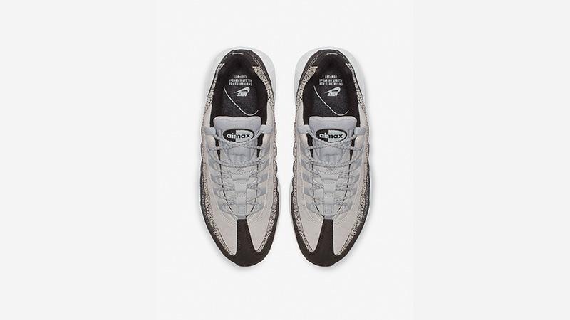 98cd2d708a17 Nike Air Max 95 Premium Black Grey 807443-016 02