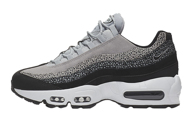 hot sale online 2e713 3c62e Nike Air Max 95 Premium Black Grey | 807443-016