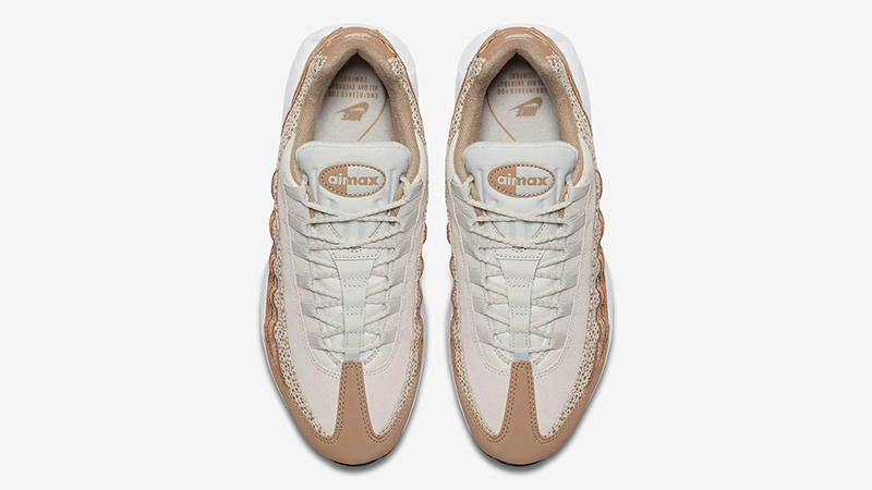 Nike Air Max 95 Safari Light Bone Womens 807443-201 02