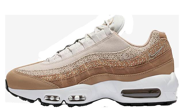 purchase cheap 9e179 e7001 Nike Air Max 95 Safari Light Bone Womens | 807443-201