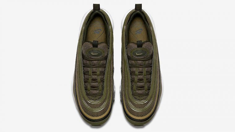 56b258650f Nike Air Max 97 Olive Green Womens | 921733-200 | The Sole Womens