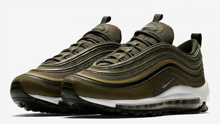 Nike Air Max 97 Olive Green Womens 921733-200 03 thumbnail image