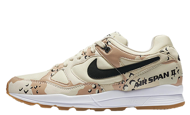 2492904654c4c9 Nike Air Span II Premium Beach Camo
