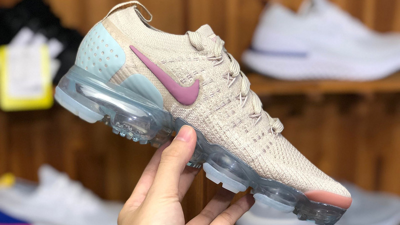 0b200aa43c65 Nike Air VaporMax 2 Particle Beige Blue 942843-203 05