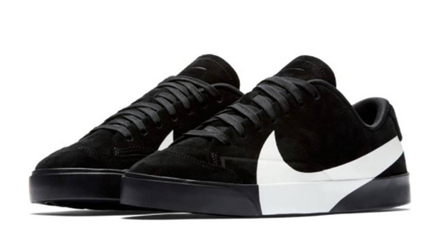 Nike Schuhe Blazer Low Lx AV9371 002 Oil Grey/Bright Crimson