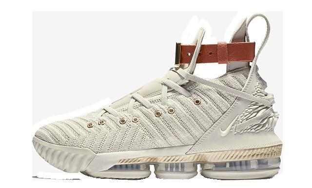 Nike LeBron 16 LMTD Sail Womens BQ6583-100
