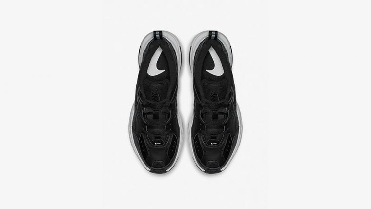 Nike M2K Tekno Black White Womens AO3108-005 02