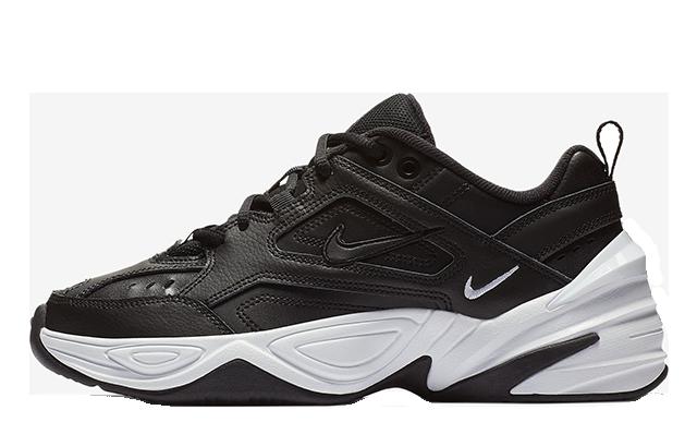 Nike M2K Tekno Black White Womens AO3108-005