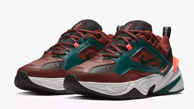 Nike M2K Tekno Pueblo Brown 03