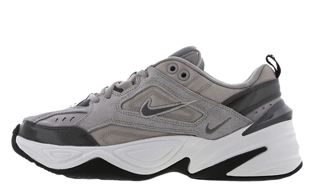 sports shoes f7a3f 97caf The Nike M2K Tekno Rich Clash Grey is available to buy now, head to the  links on this page to shop your pair today! UK true DD MM YYYY