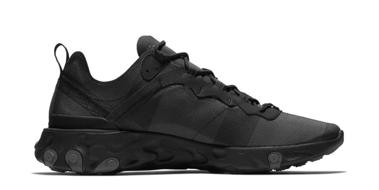 Nike React Element 55 Arrives In A Triple Black