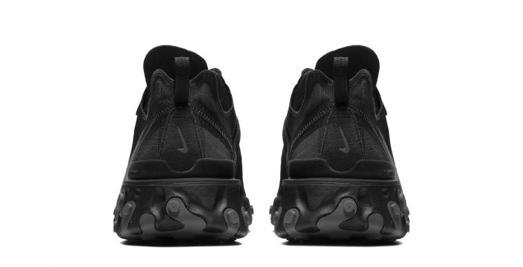 Nike React Element 55 Arrives In A Triple Black thumbnail image