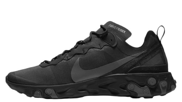 Nike React Element 55 Arrives In A Triple Black thumbnail image