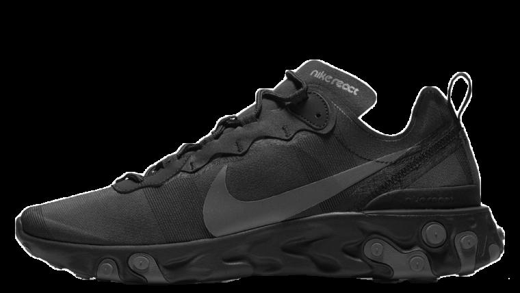 Nike React Element 55 Arrives In A Triple Black