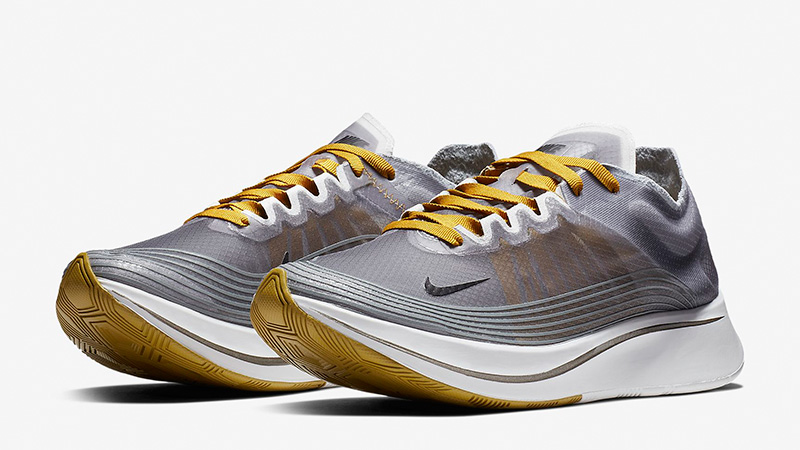 2018 sneakers autumn shoes separation shoes Nike Zoom Fly SP Grey Beige | AJ8229-001