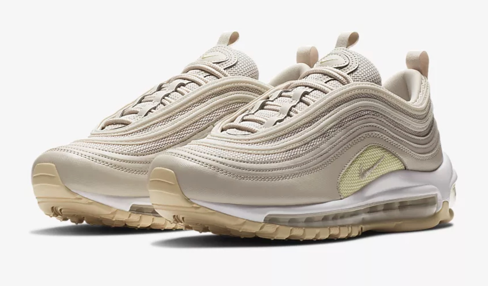 best website be16c 5763d ... real nikes air max 97 gets a desert sand beach makeover closer look  f5159 0f42c ...