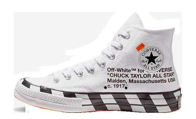 Off-White Converse Chuck 70 Stripe
