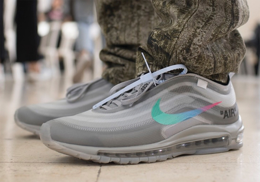 The Off-White x Nike Air Max 97