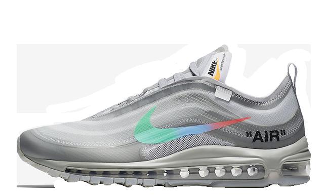 Off-White x Nike Air Max 97 Grey Mentha | AJ4585-101