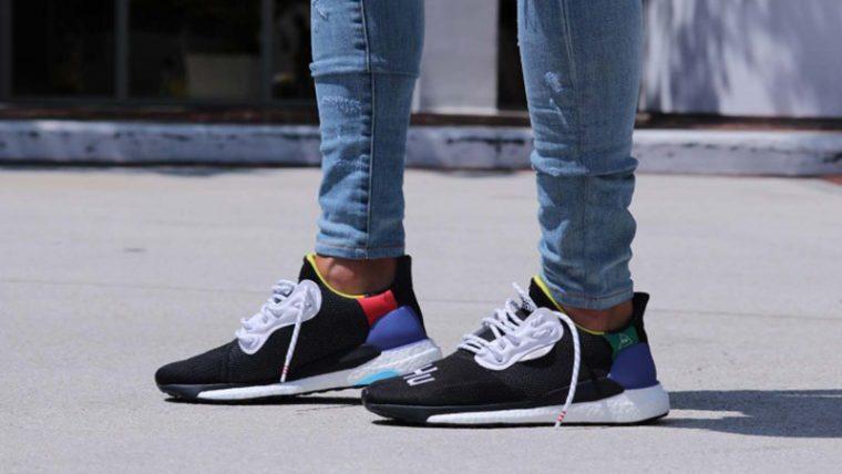 349b0a60942f1 Pharrell Williams x adidas Solar Hu Glide Black BB8041 05