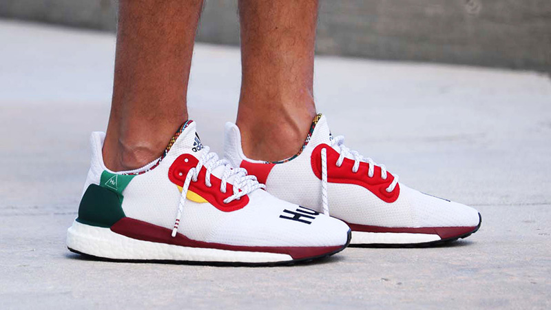 more photos separation shoes new specials Pharrell Williams x adidas Solar Hu Glide White | BB8044