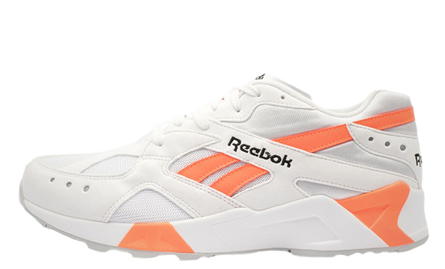 promo code 6409f baf2c Reebok Aztrek White Orange  CN7472