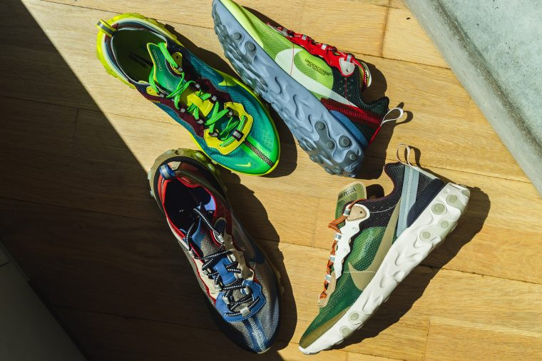 brand new d7fb3 98df0 Raffle Guide To The Undercover x Nike React Element 87