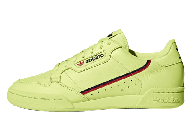 adidas Continental 80 Frozen Yellow | B41675