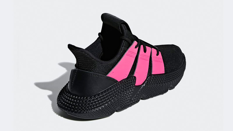new concept 2c77a 4ecf5 adidas Prophere Black Pink Womens B37660 01
