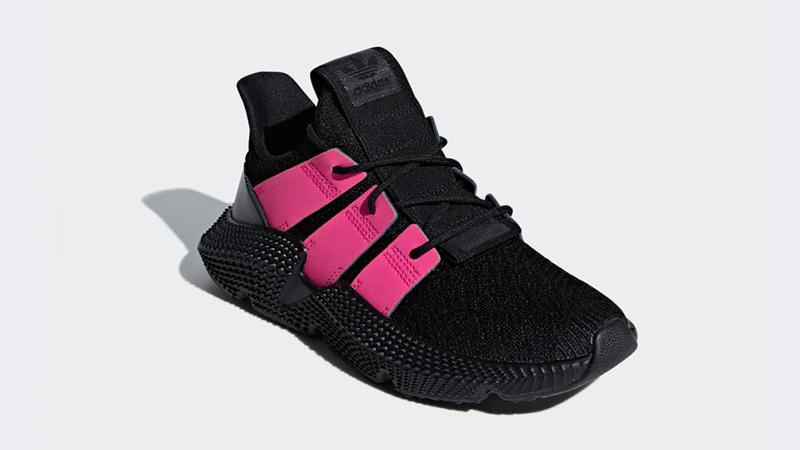 super popular 592f9 8b990 adidas Prophere Black Pink Womens B37660 03