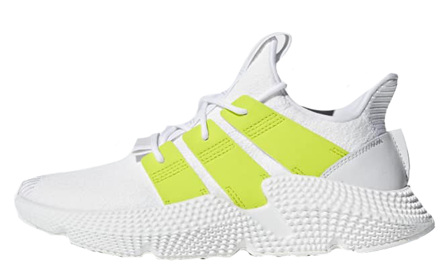 free shipping 7ccc6 2611d If the adidas Prophere White Volt Womens is at the top of your wishlist  this season, it will be available to buy from October 3rd.