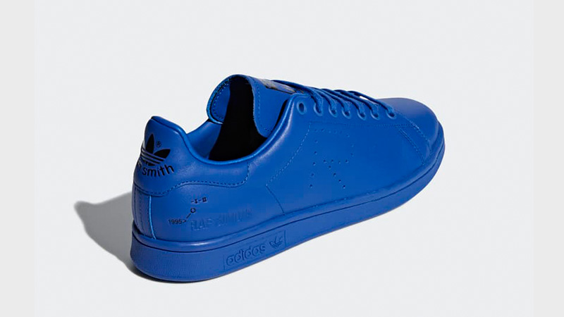 brand new 8ecbd ecacd adidas Raf Simons Stan Smith Blue | F34260