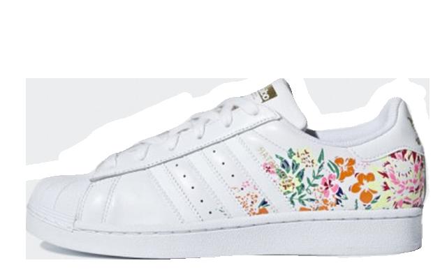 adidas Superstar Flower Embroidery White | DB3495