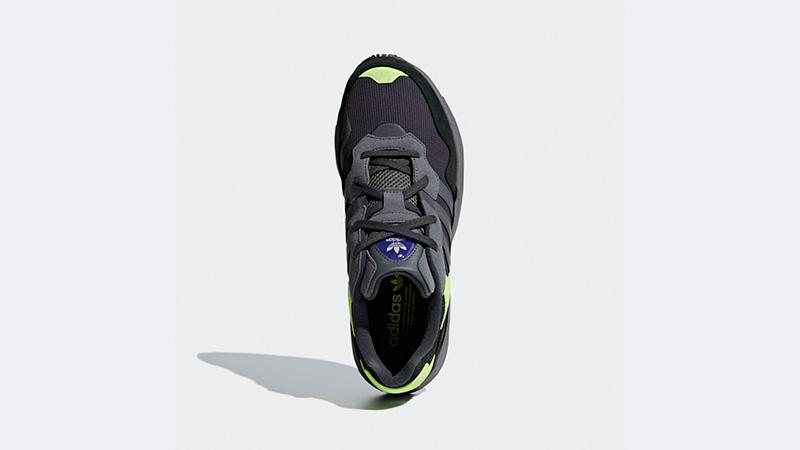 cheaper 32166 b78cb adidas Yung 96 Black Green   F97180