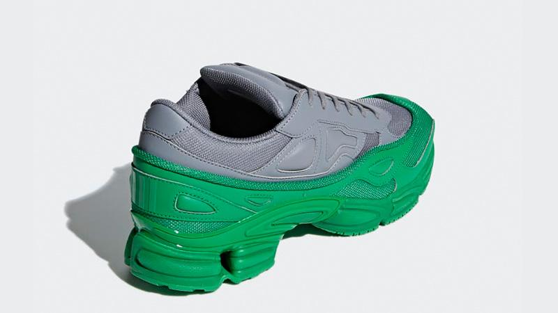 huge selection of ca4a0 cbc60 adidas x Raf Simons Ozweego Green Grey | F34266
