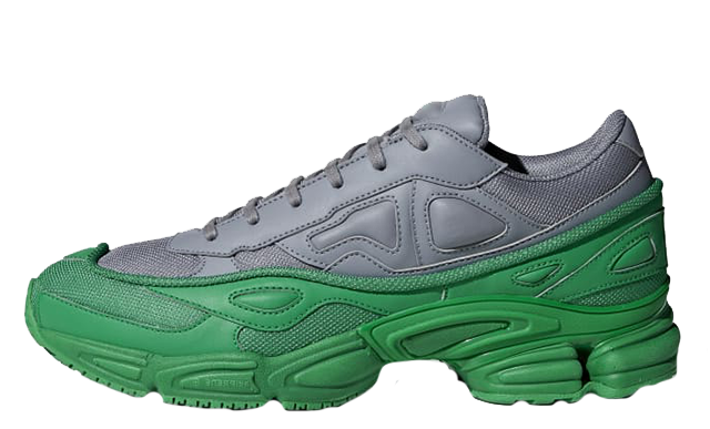 huge selection of ea85c 5c5f0 adidas x Raf Simons Ozweego Green Grey | F34266