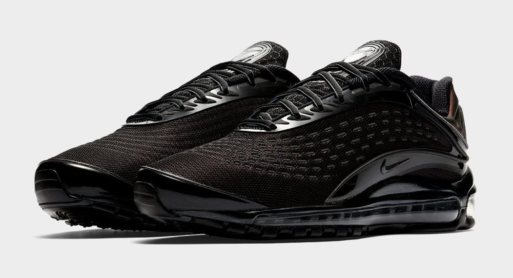 Nike's Air Max Deluxe Arrives In Triple Black And Triple