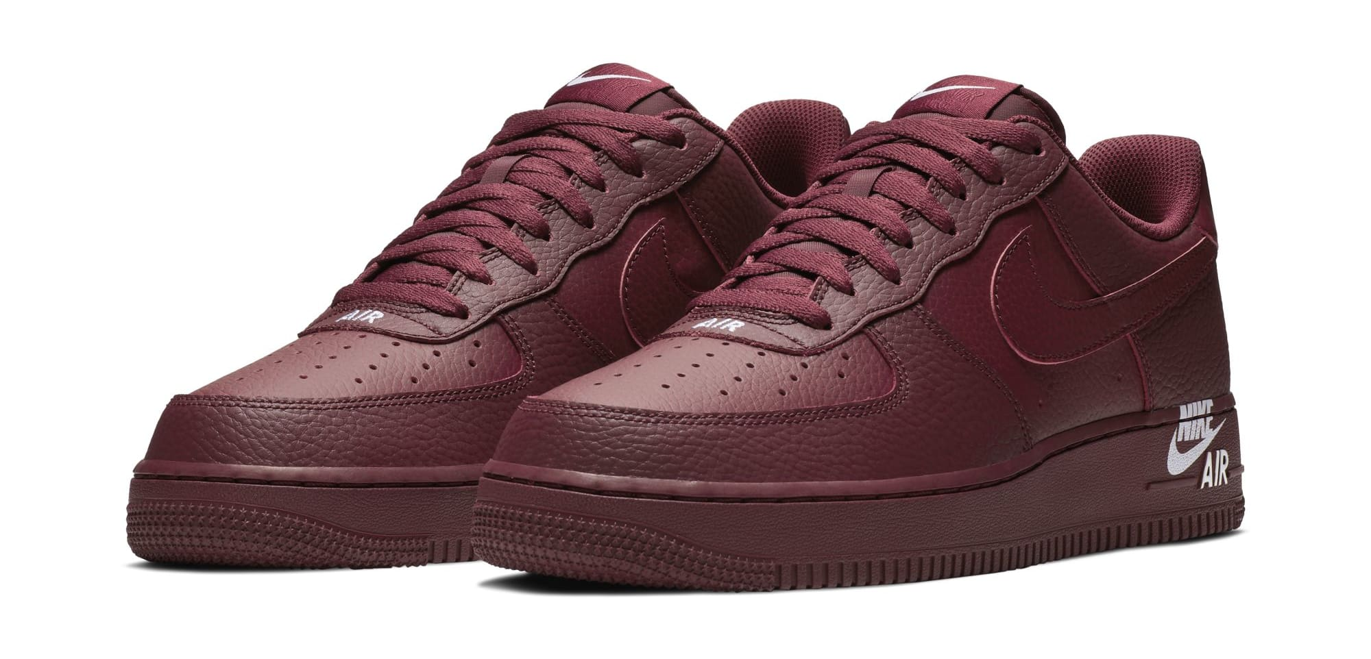 Stamp Detailing Arrives On The Nike Air Force 1
