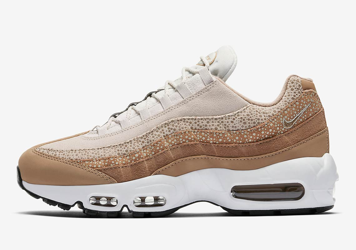 Nike Air Max 95 Safari Light Bone Womens 807443 201