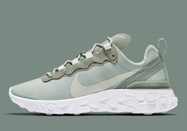 sale retailer e4af7 950f5 Nike React Element 55 Mica Green