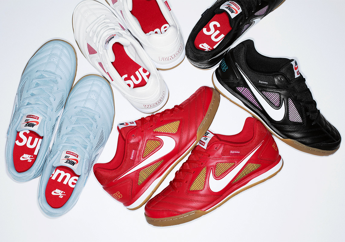 sneakers for cheap 3f4a4 cc776 The Supreme x Nike SB Gato Is Re-Releasing This Week ...