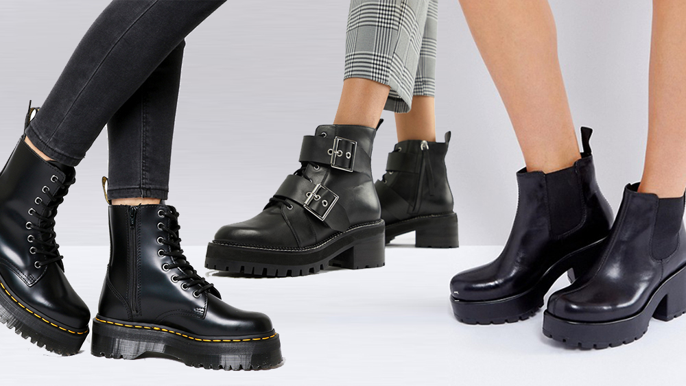 The Top Chunky Boots For This Season
