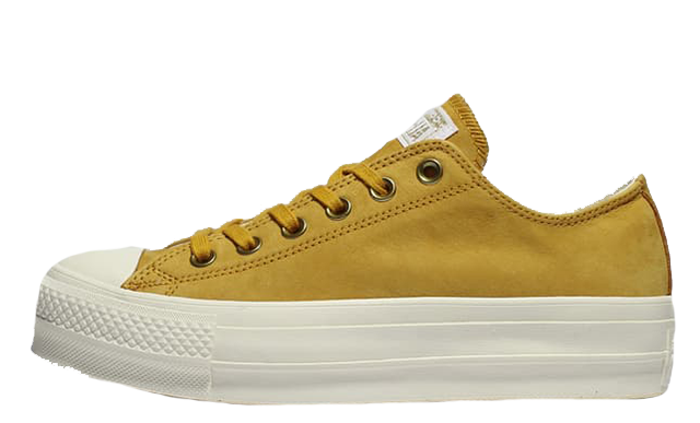 Converse All Star Yellow White