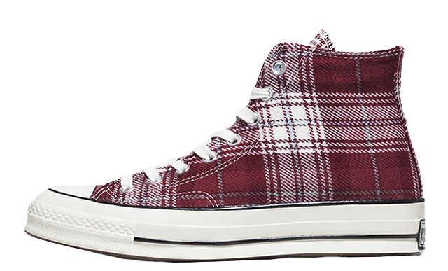 converse all star tartan
