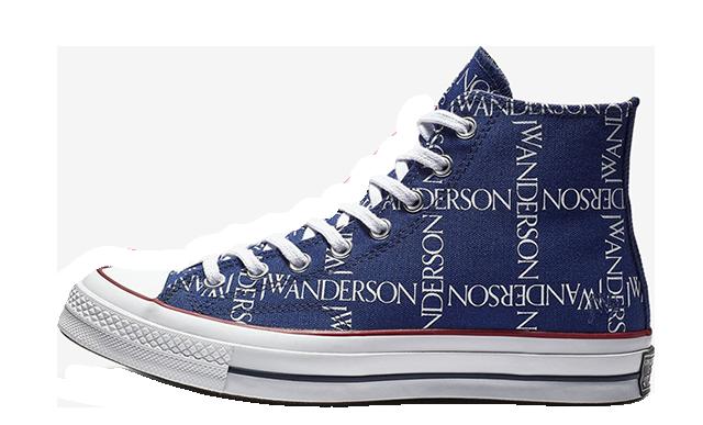 Converse X JW Anderson Chuck 70 Hi Print Blue | 162291C