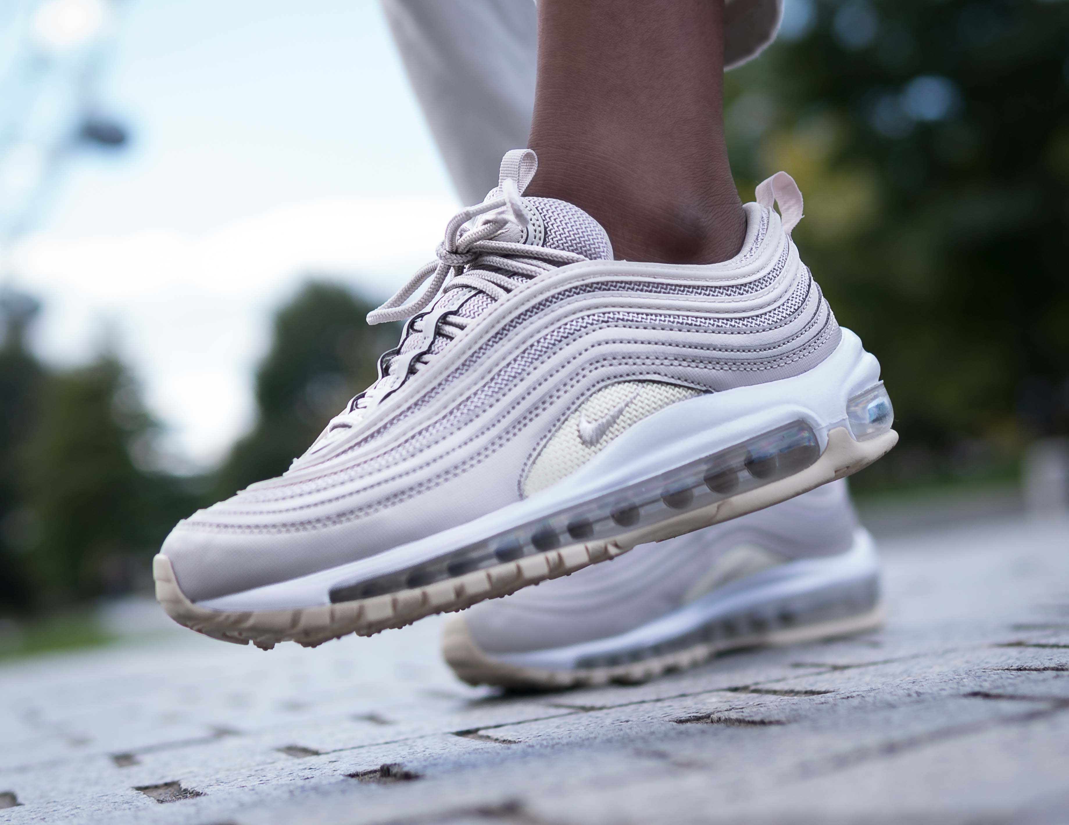 An Exclusive On Foot Look At Nike S Air Max 97 Desert Sand