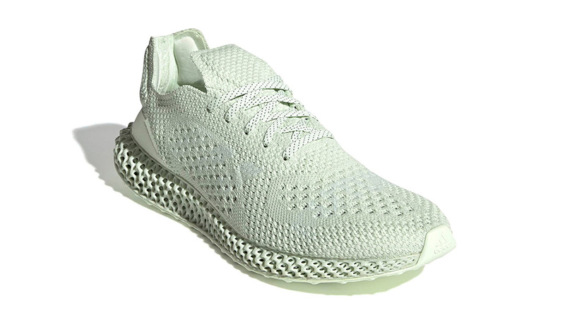 Daniel Arsham x adidas Futurecraft 4D Green | BD7400